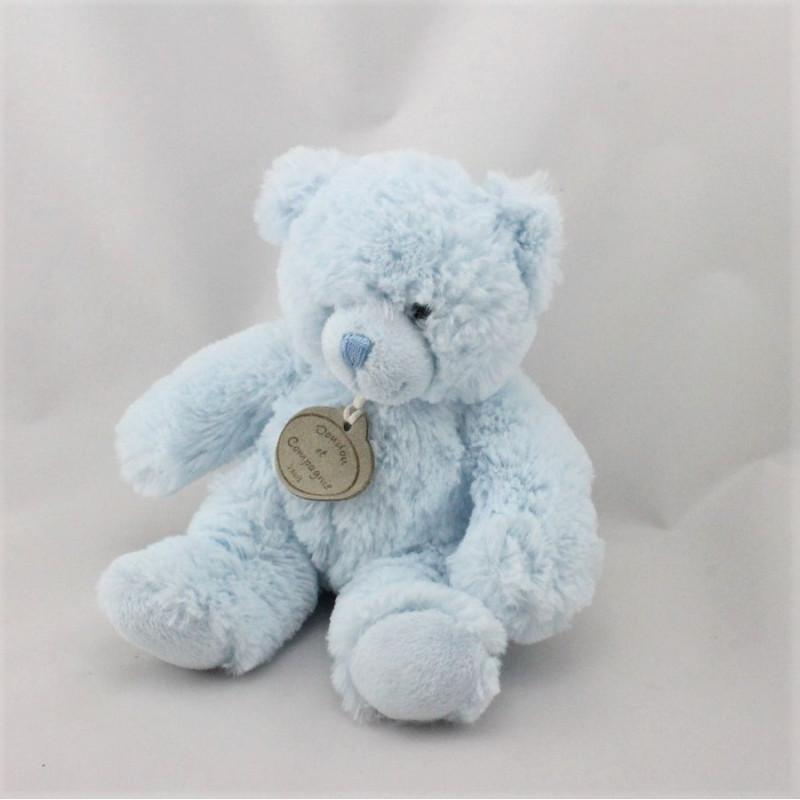 Doudou et compagnie musical ours bleu tout doux
