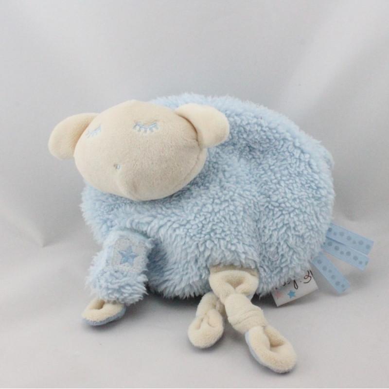 Doudou mouton bleu EILEEN