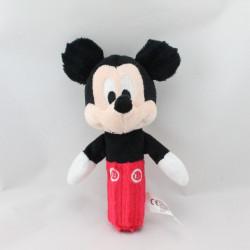 Doudou baton Mickey noir rouge DISNEY NICOTOY