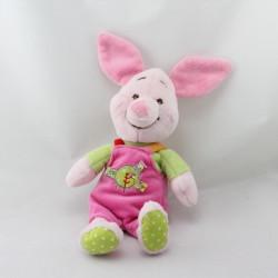 Doudou Porcinet rose vert rouge jaune DISNEY BABY