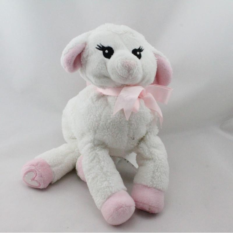 Doudou sac mouton blanc rose H ET M H.M H&M