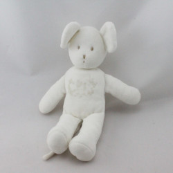 Doudou souris blanche PETIT BATEAU