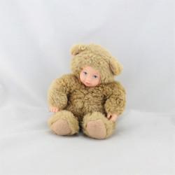 Poupée ours beige ANNE GEDDES