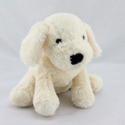 Doudou chien écru blanc ENESCO