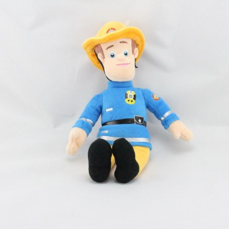 Doudou poupée pompier Sam Fireman
