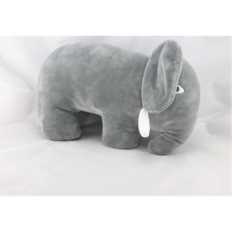 Doudou éléphant gris MONOPRIX