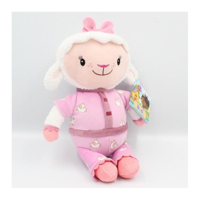Doudou mouton rose Doc McStuffins Docteur DISNEY JUNIOR