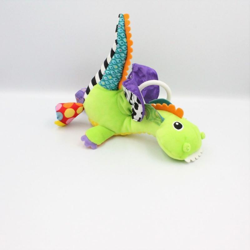 Doudou eveil dragon vert FLIP FLAP TOMY LAMAZE