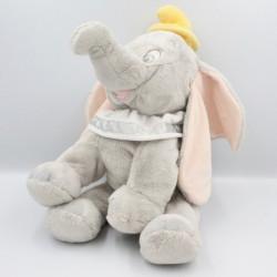 Grand doudou éléphant gris col blanc Dumbo DISNEY STORE