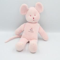 Doudou souris rose tout petit PETIT BATEAU