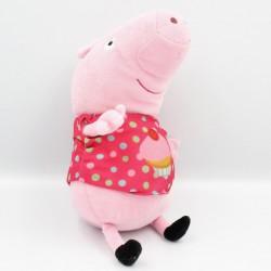 Doudou cochon rose pois...