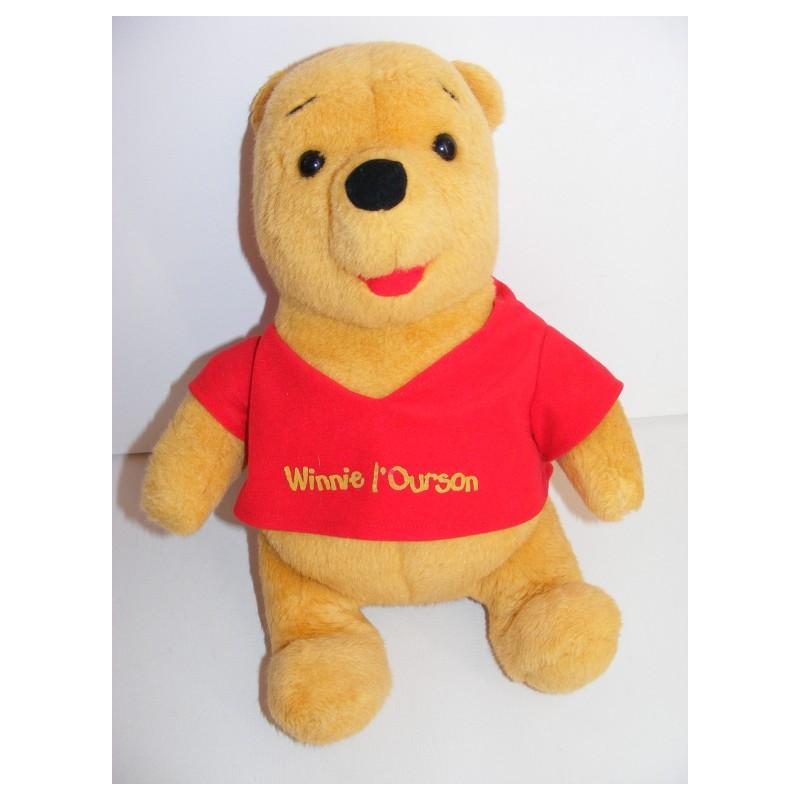 Peluche Winnie l'ourson Année 1994 Mattel Disney