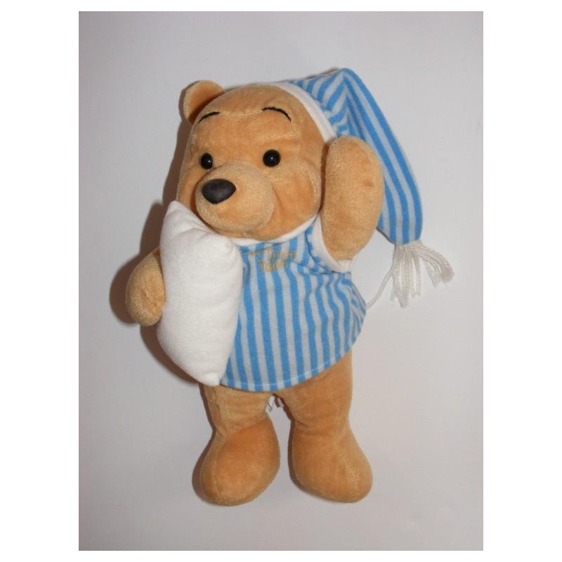 Peluche Winnie l'ourson en pyjama DISNEY