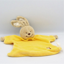 Doudou plat lapin beige...