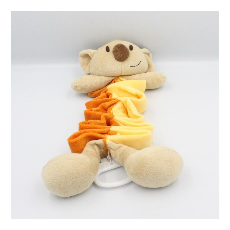 Doudou musical koala jaune beige vert Dodo d'amour MGM