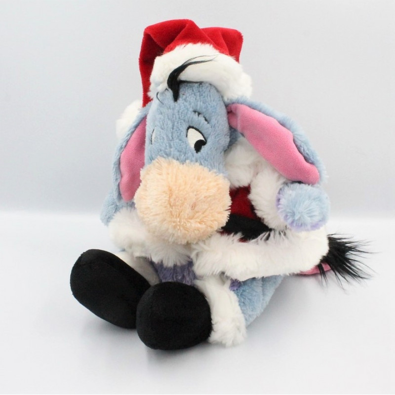 Peluche Bourriquet Pére Noël Collection Disney Store