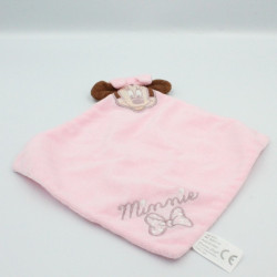 Doudou plat minnie rose DISNEY CARTOON CLUB
