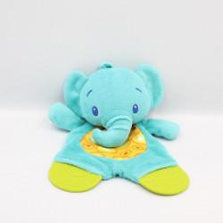 Doudou plat éléphant bleu...