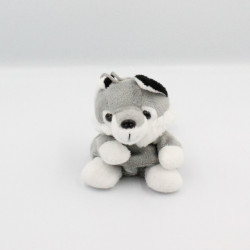 Doudou chien loup gris blanc RODADOU RODA