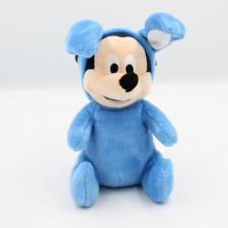 Doudou Mickey déguisé en lapin bleu DISNEY NICOTOY