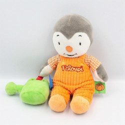 Doudou Tchoupi orange arrosoir vert NICOTOY