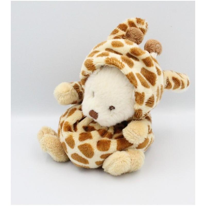 Doudou ours girafe BUKOWSKI