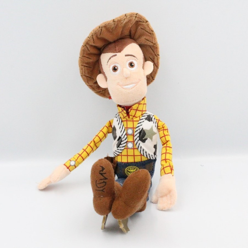 Doudou peluche CowBoy Woody Toys story DISNEY
