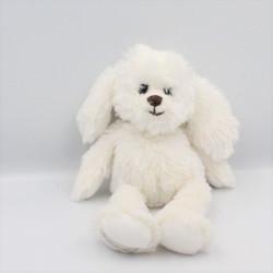Doudou chien blanc BUKOWSKI