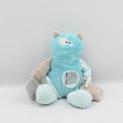 Doudou ours monstre bleu...