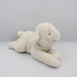 Doudou peluche mouton blanc CYRILLUS