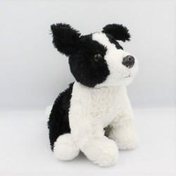 Peluche chien noirs blanc COMPTOIR DU MONDE
