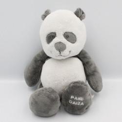 Doudou panda gris noir blanc Louis et Scott NOUKIE'S