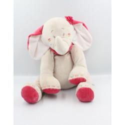 Grand Doudou éléphant gris...