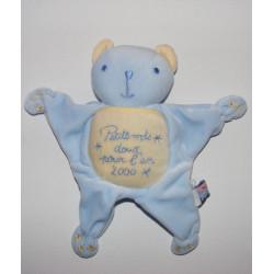 Doudou ours petits mots doux pour l'an 2000 SUCRE D'ORGE