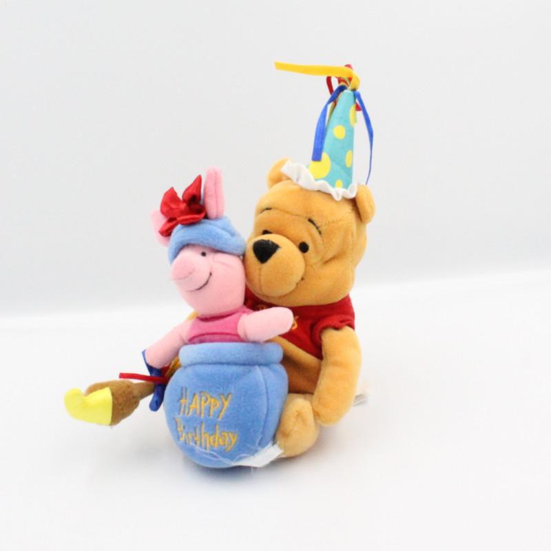Peluche Winnie et Porcinet Happy Birthday DISNEY STORE