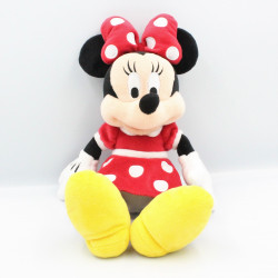 Peluche Minnie robe rouge à pois DISNEY 32 cm