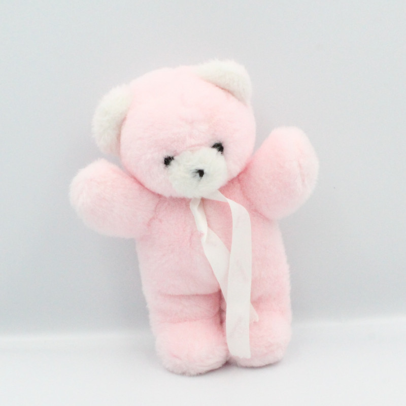 Peluche ours rose NOUNOURS