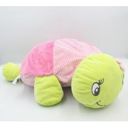 Doudou range pyjama tortue verte rose pois BABY NAT
