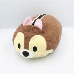Doudou peluche écureuil Tic et Tac Tsum Tsum DISNEY PARKS 32 cm