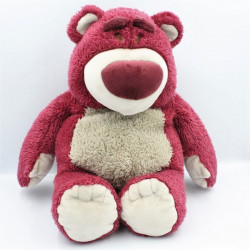 Peluche ours rose Lotso Toys Story DISNEYLAND RESORT