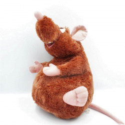 Peluche rat marron Emile Ratatouille DISNEYLAND
