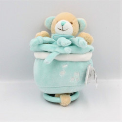 Doudou et compagnie musical ours bleu blanc Cueillettes