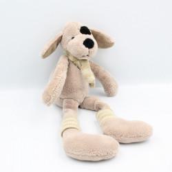 Doudou chien marron rayé ALLDECO BVBA