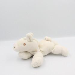 Doudou cheval blanc AURORA NATURALLY