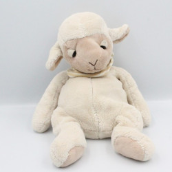 Doudou mouton beige blanc ALLDECO BVBA