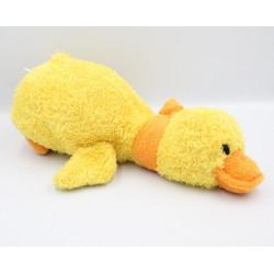 Doudou peluche canard jaune orange NICOTOY