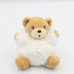 Mini Doudou ours blanc Fur fourrure KALOO