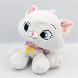 Doudou chat blanc Marie Les Aristochats Disney