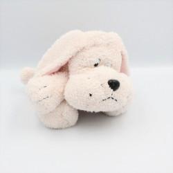 Doudou chien rose éponge
