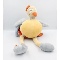 Grand doudou Oiseau Autruche Sissi NOUKIE'S 50 cm